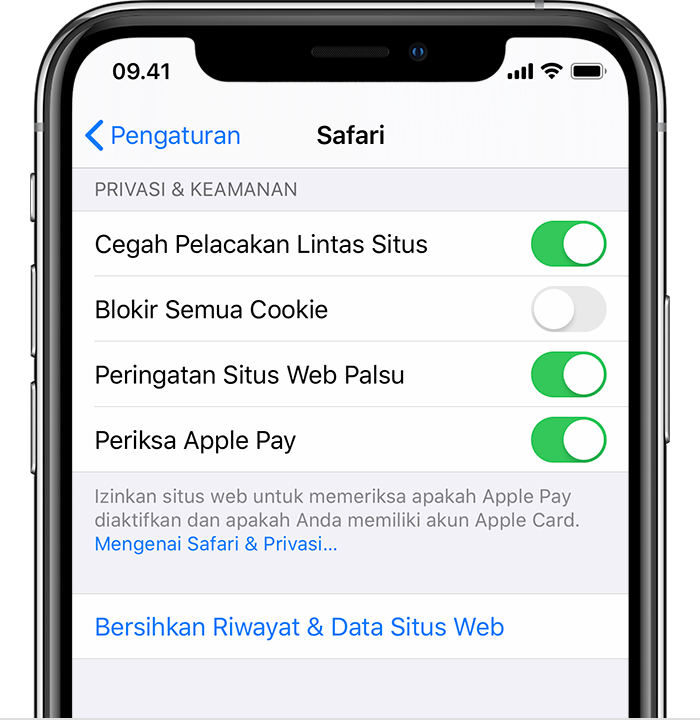 safari di iphone ipad atau ipod touch