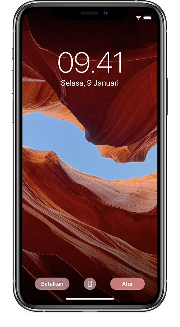 ios13 iphone xs settings wallpaper choose preview