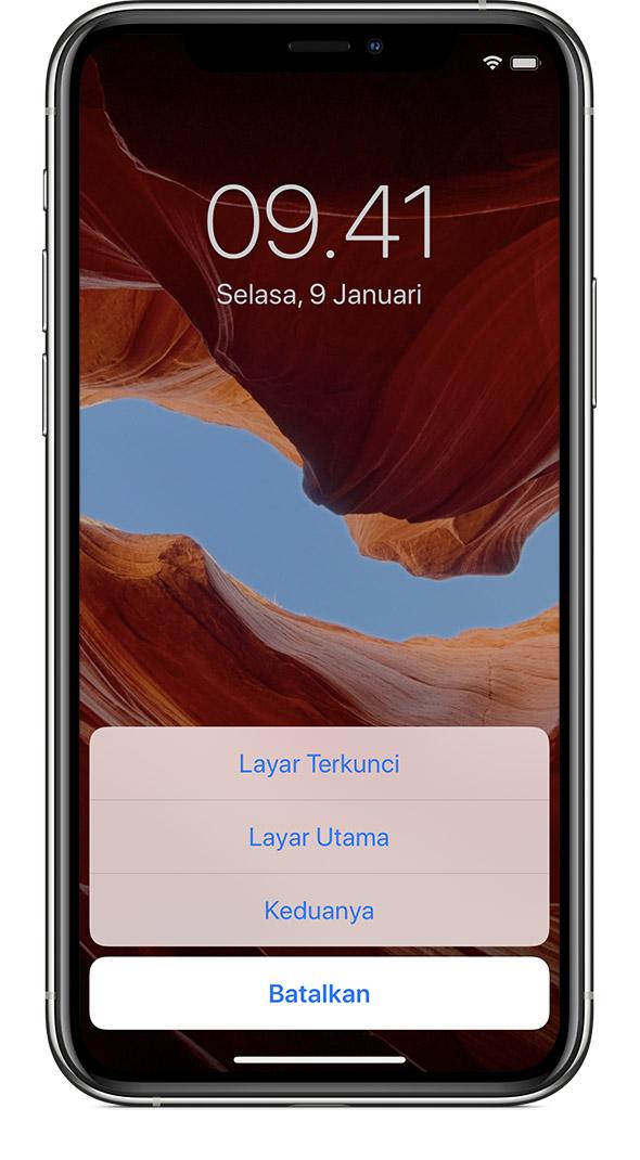 Mengubah Wallpaper Di Iphone Apple Support