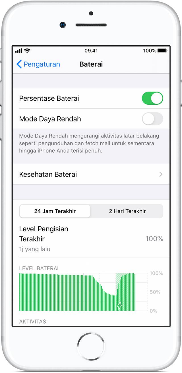 Baterai dan Kinerja iPhone - Apple Support
