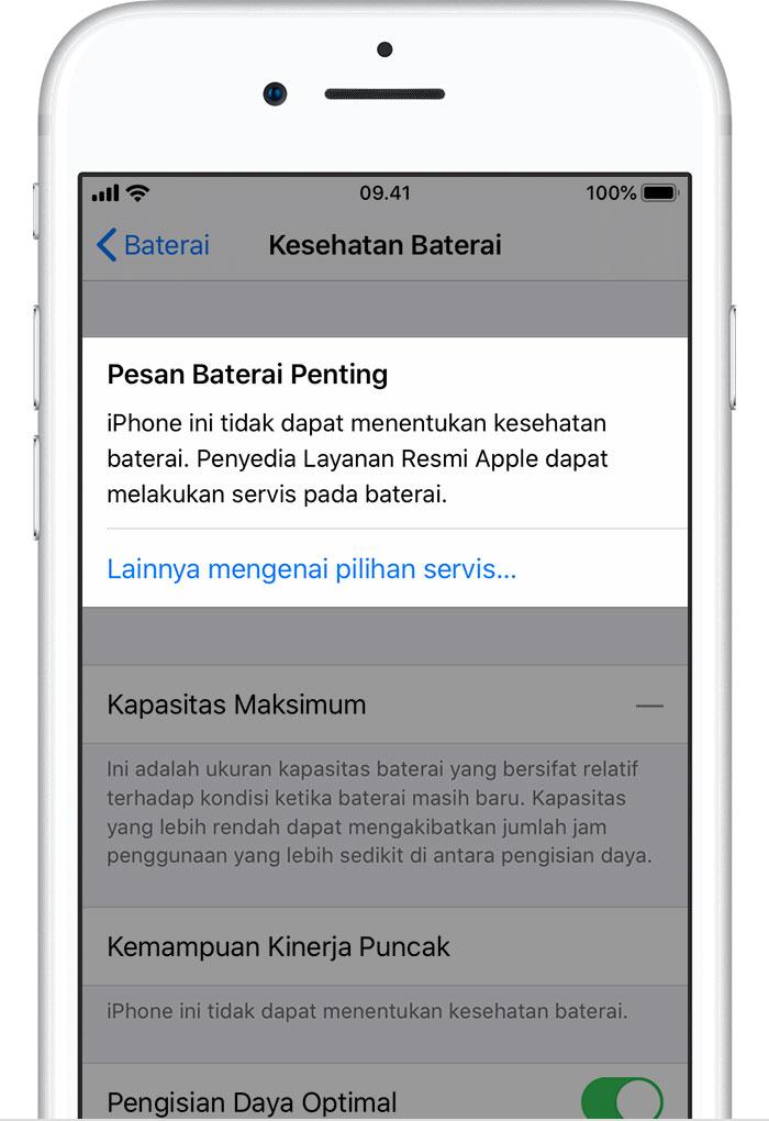 Baterai Dan Kinerja Iphone Apple Support