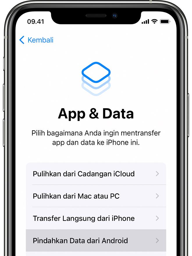 Beralih Dari Android Ke Iphone Ipad Atau Ipod Touch Apple Support