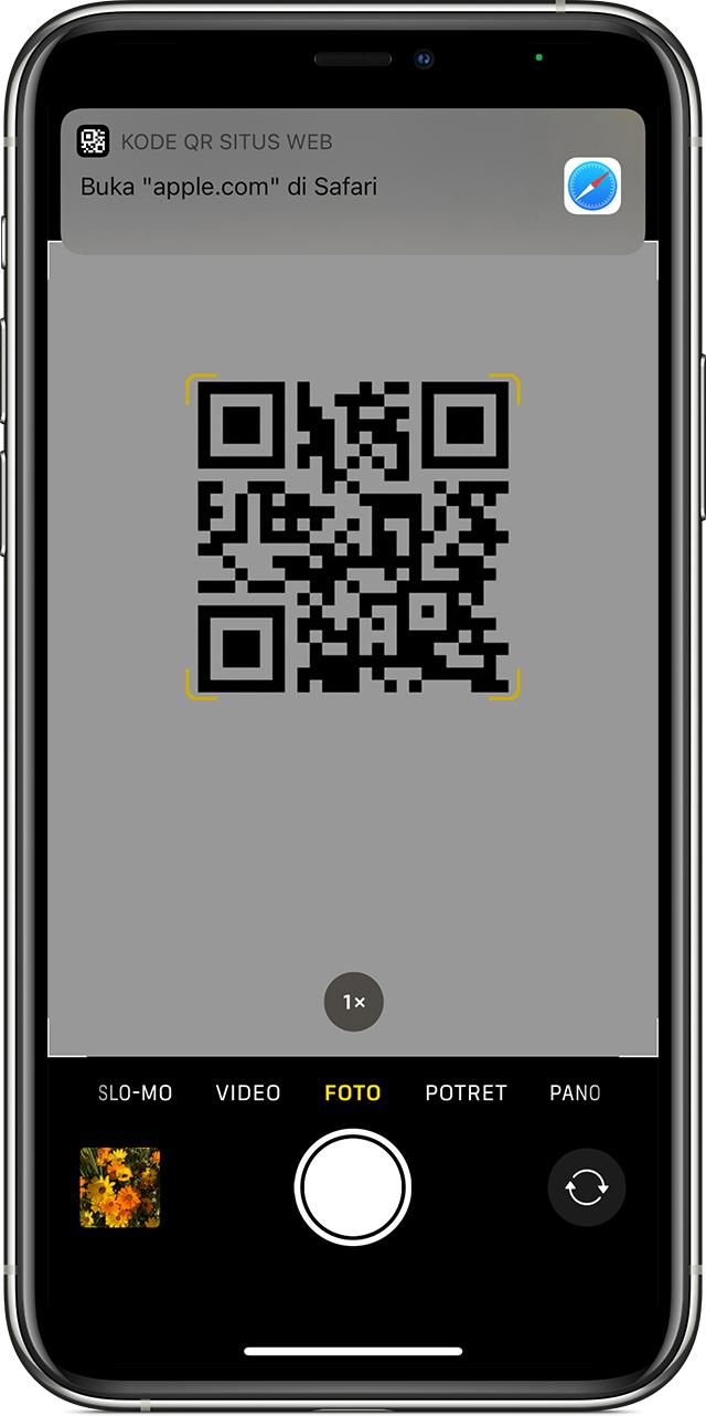 Memindai Kode Qr Dengan Iphone Ipad Atau Ipod Touch Apple Support