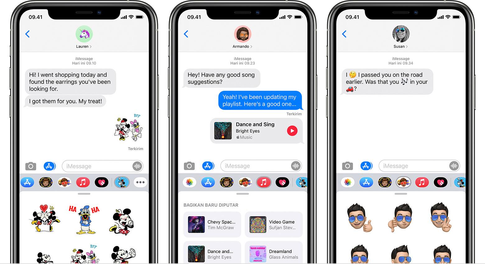 Menggunakan App Imessage Di Iphone Ipad Dan Ipod Touch Apple Support
