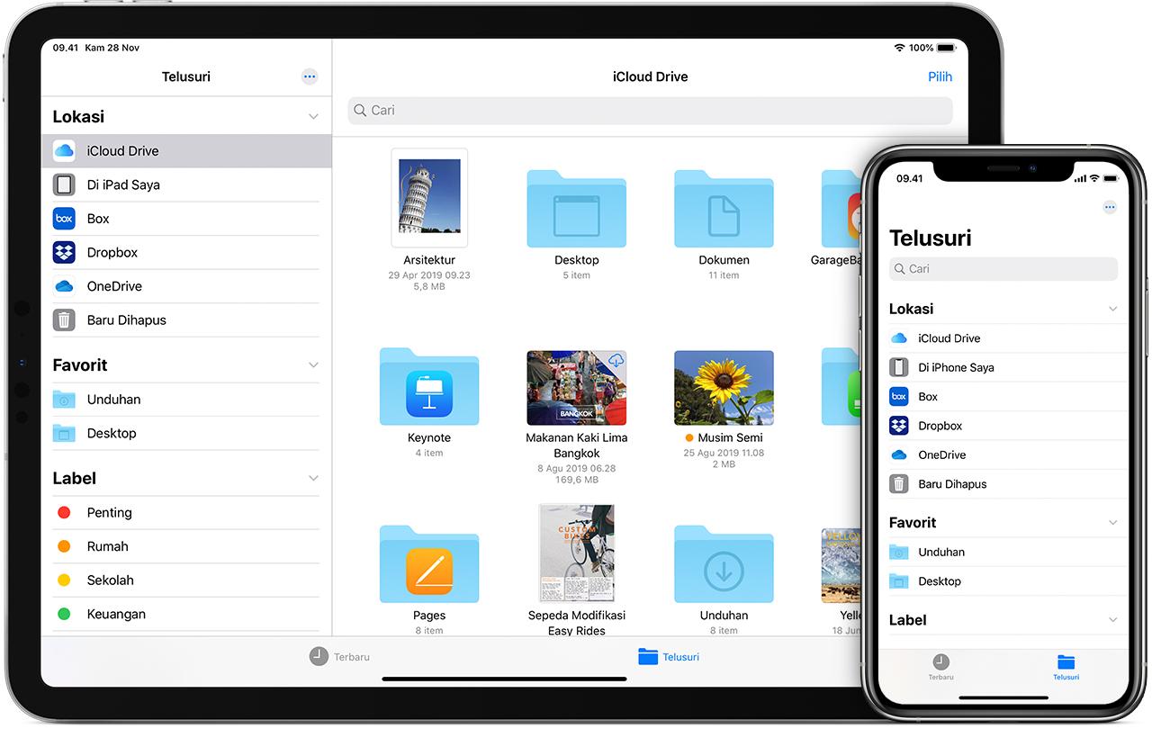 Menggunakan App File Di Iphone Ipad Atau Ipod Touch Apple Support