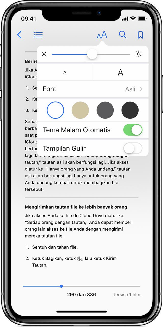 Baca Buku Dan Lainnya Dengan Apple Books Di Iphone Ipad Atau Ipod