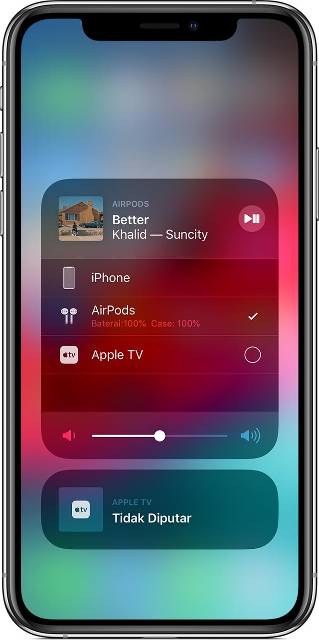 Menghubungkan Lalu Menggunakan Airpods Dan Airpods Pro Anda Apple Support