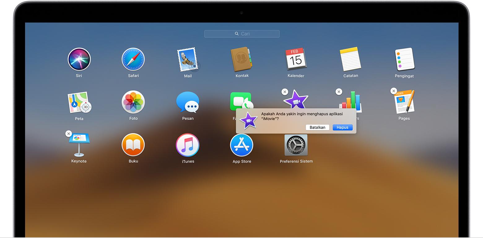 Cara Menghapus App Di Mac Apple Support