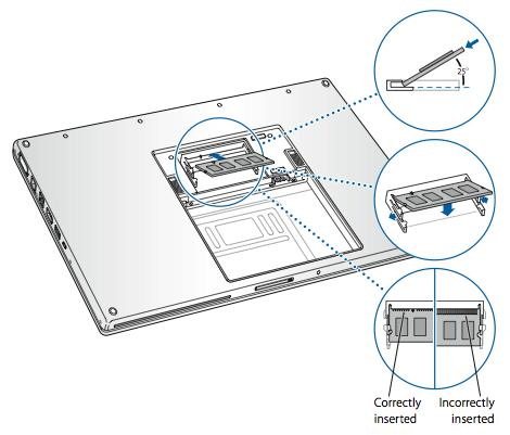 MacBook Pro Cara Melepaskan Atau Memasang Memori