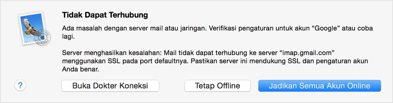 Jika Anda Tidak Dapat Mengirim Atau Menerima Email Di Mac Apple