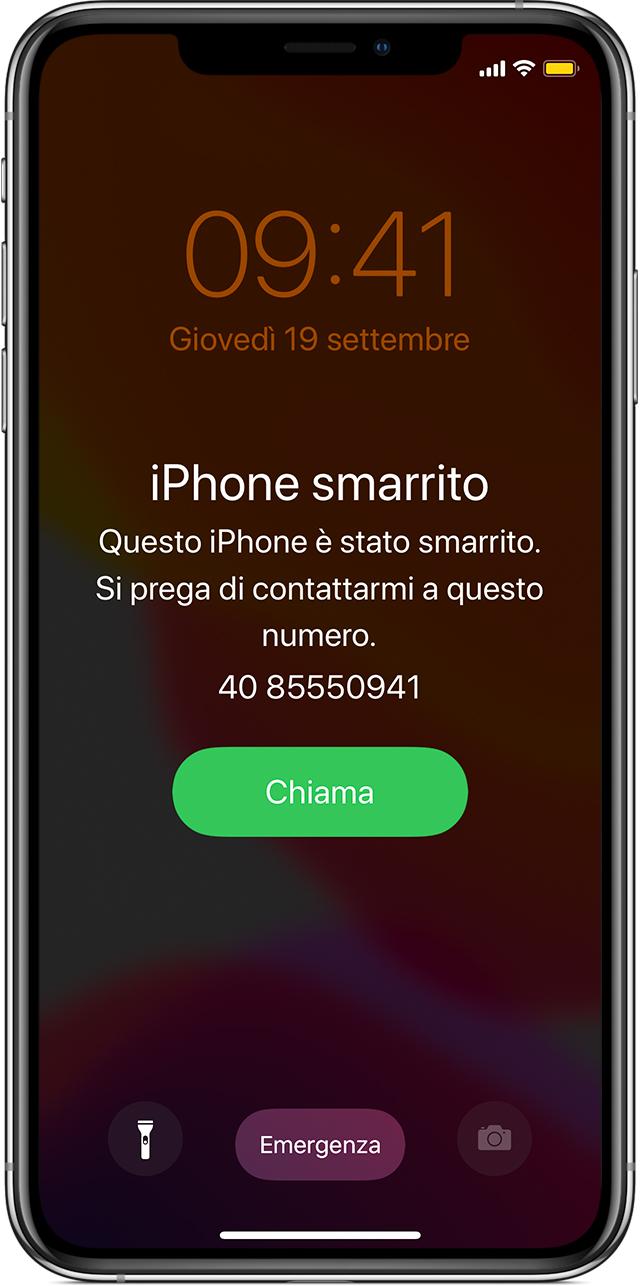 Cosa Fare In Caso Di Smarrimento O Furto Di Iphone Ipad O Ipod Touch Supporto Apple
