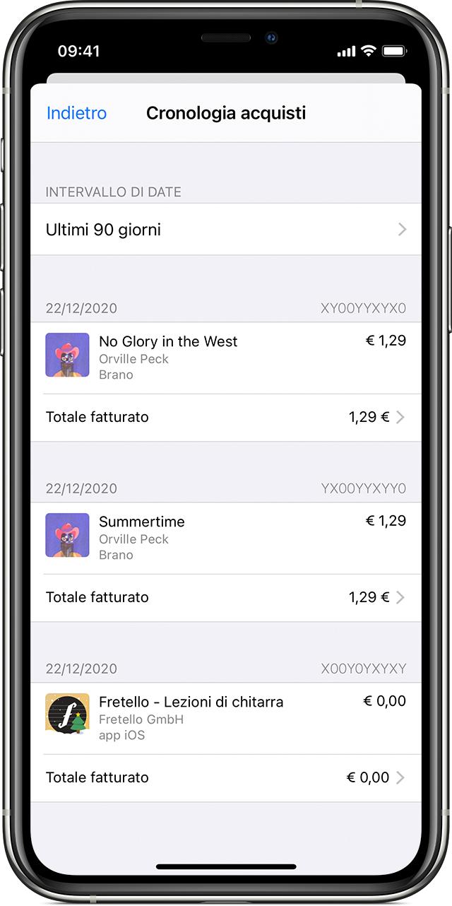 Come Vengono Fatturati App Contenuti E Abbonamenti Apple Supporto Apple