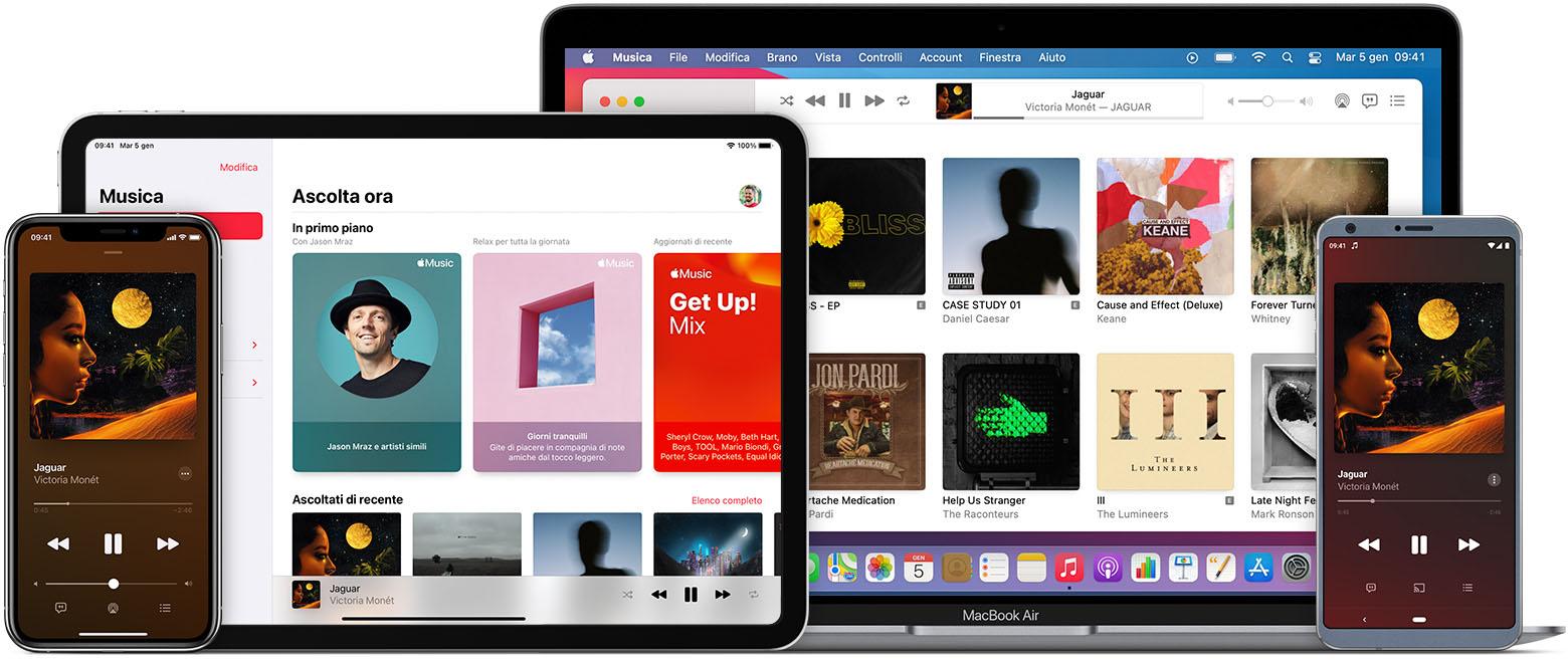 Ascoltare musica e altro con l'app Apple Music - Supporto Apple (IT)