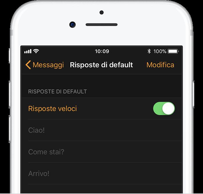 Extrêmement Come leggere i messaggi e rispondere con Apple Watch - Supporto Apple ZD05