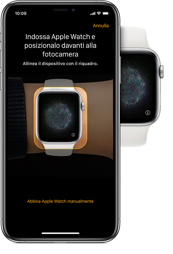 Configurare Apple Watch Supporto Apple