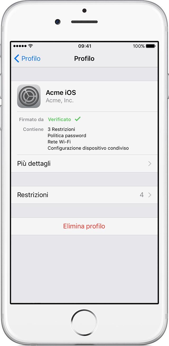 scoprire password iphone 6