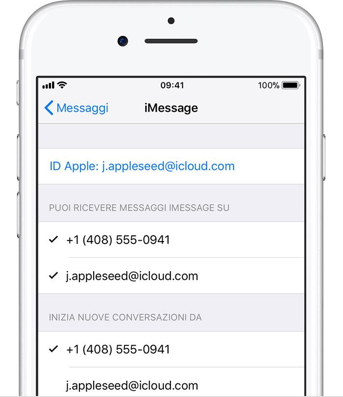 Extrêmement Aggiunta o rimozione del numero di telefono in Messaggi o FaceTime  ZD05