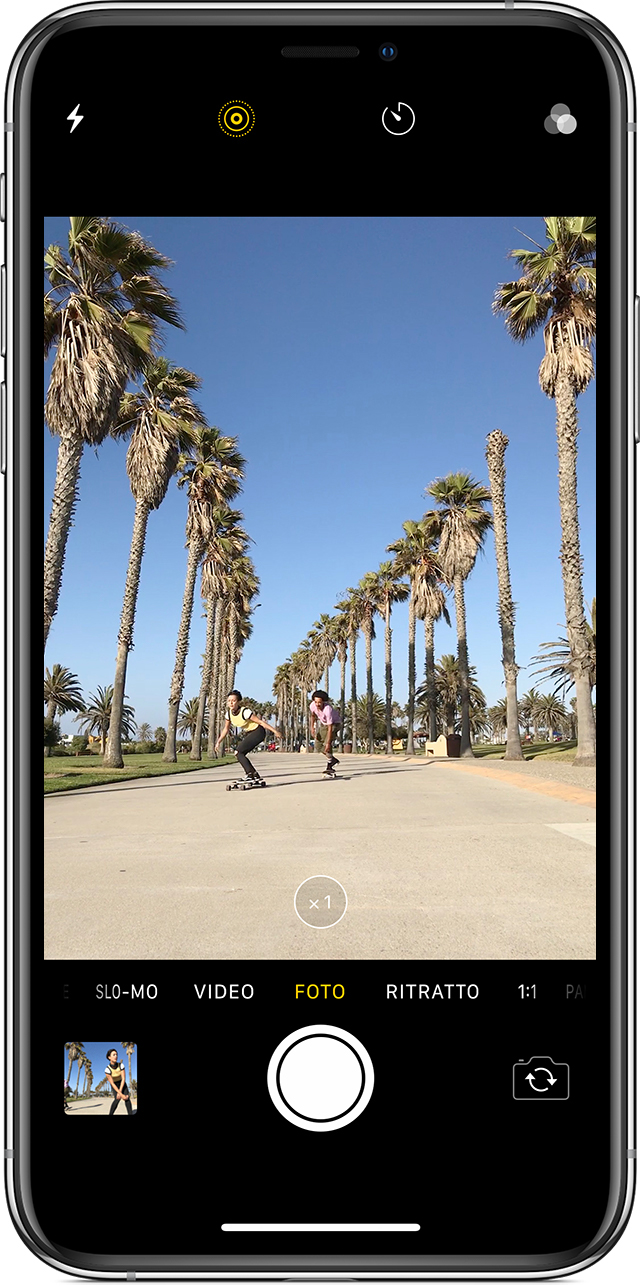 Come scattare una Live Photo su iPhone
