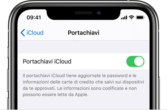 Se non riesci a cambiare il numero per la verifica tramite SMS per il portachiavi iCloud