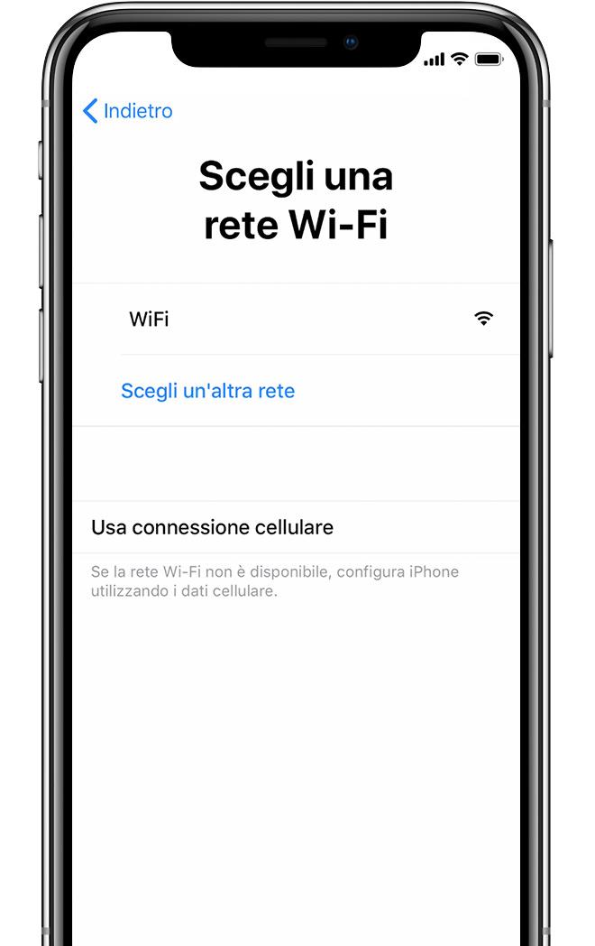 Configurazione dati cellulare tim iphone 8 Plus