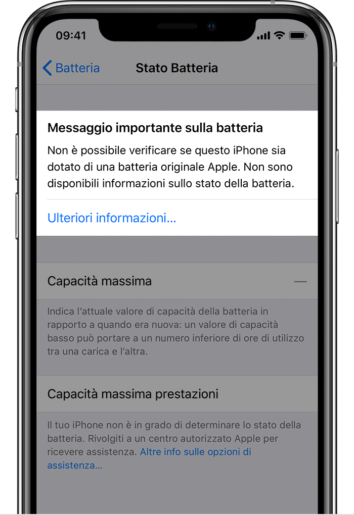 Per dispositivi non jailbroken