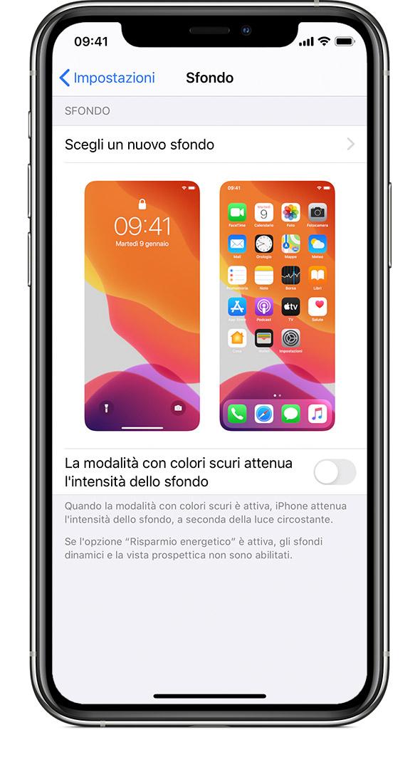 Popolare Cambiare lo sfondo dell'iPhone - Supporto Apple ZA14