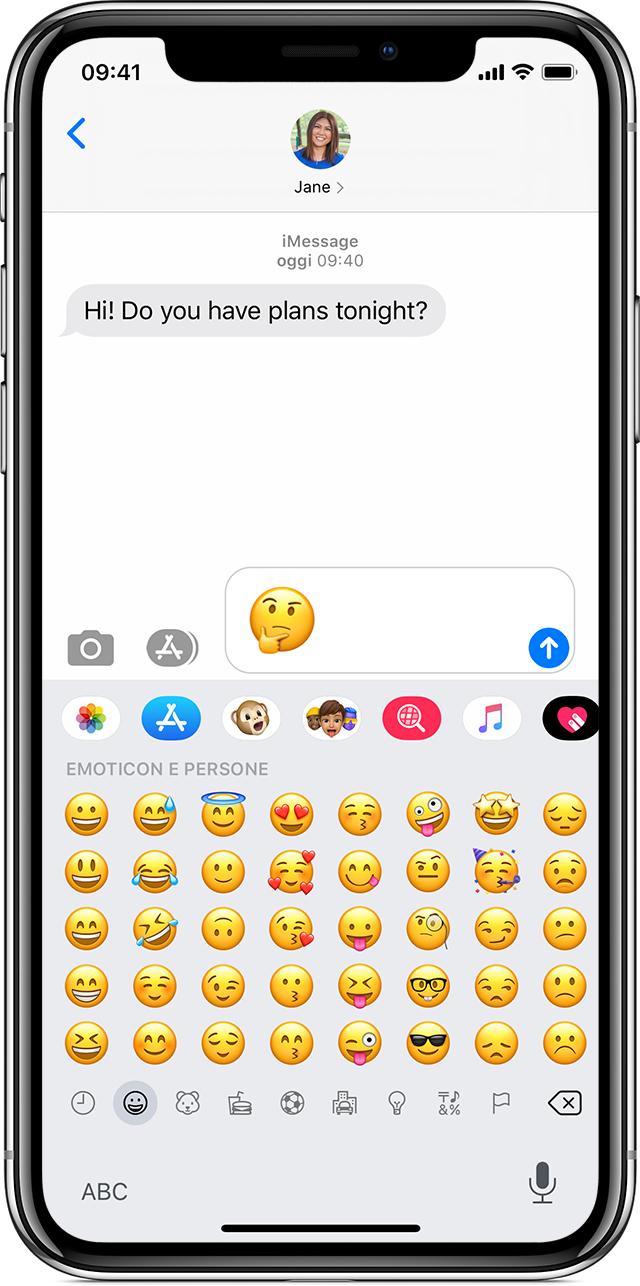 Usare Le Emoji Su Iphone Ipad E Ipod Touch Supporto Apple
