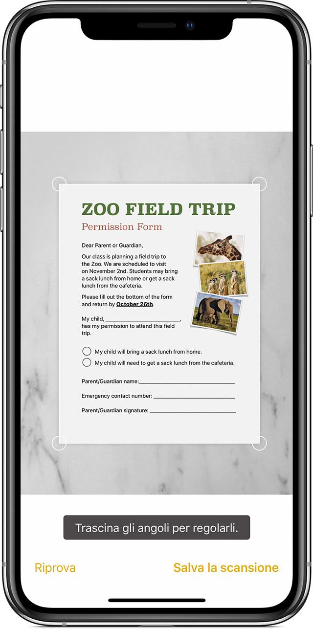 Come Scansionare Documenti Su Iphone Ipad O Ipod Touch