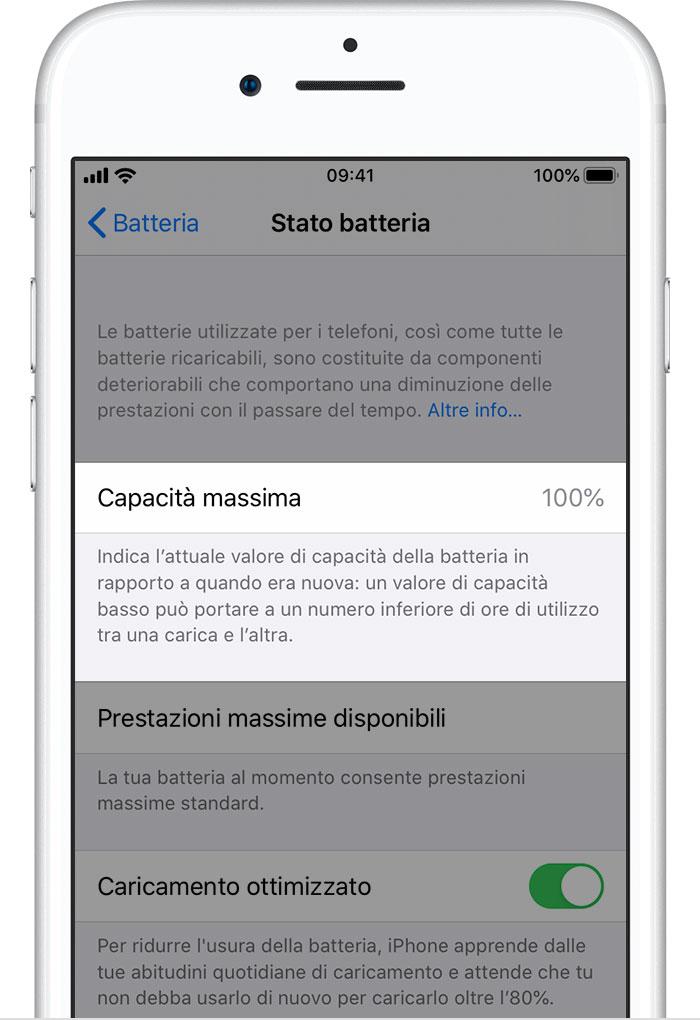 Batteria E Prestazioni Di Iphone Supporto Apple