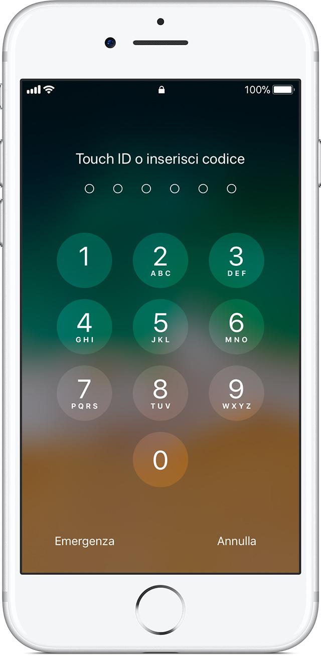Touch ID mancante: ecco la soluzione