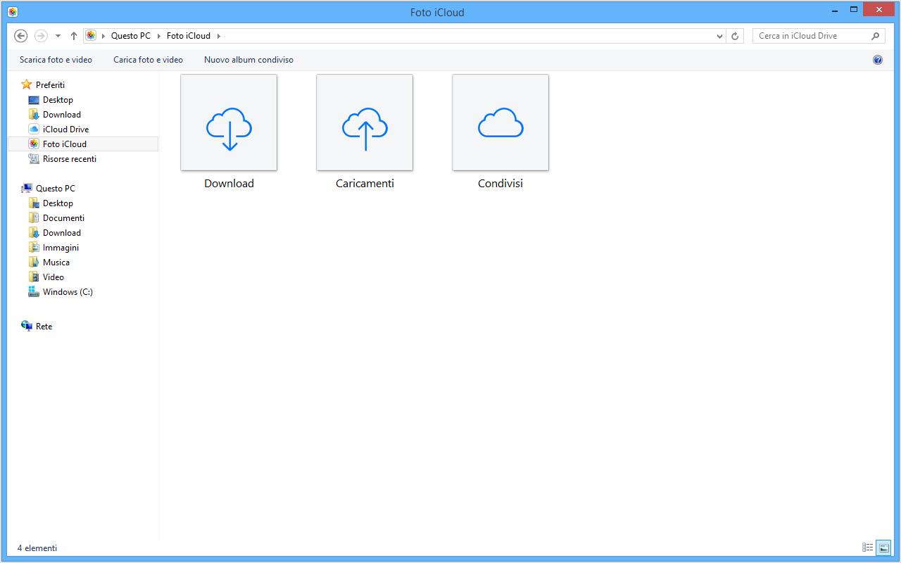 how to get photos cloud to iphotos on mac