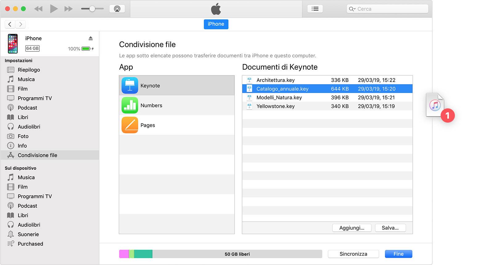come trasferire le foto da iphone a mac