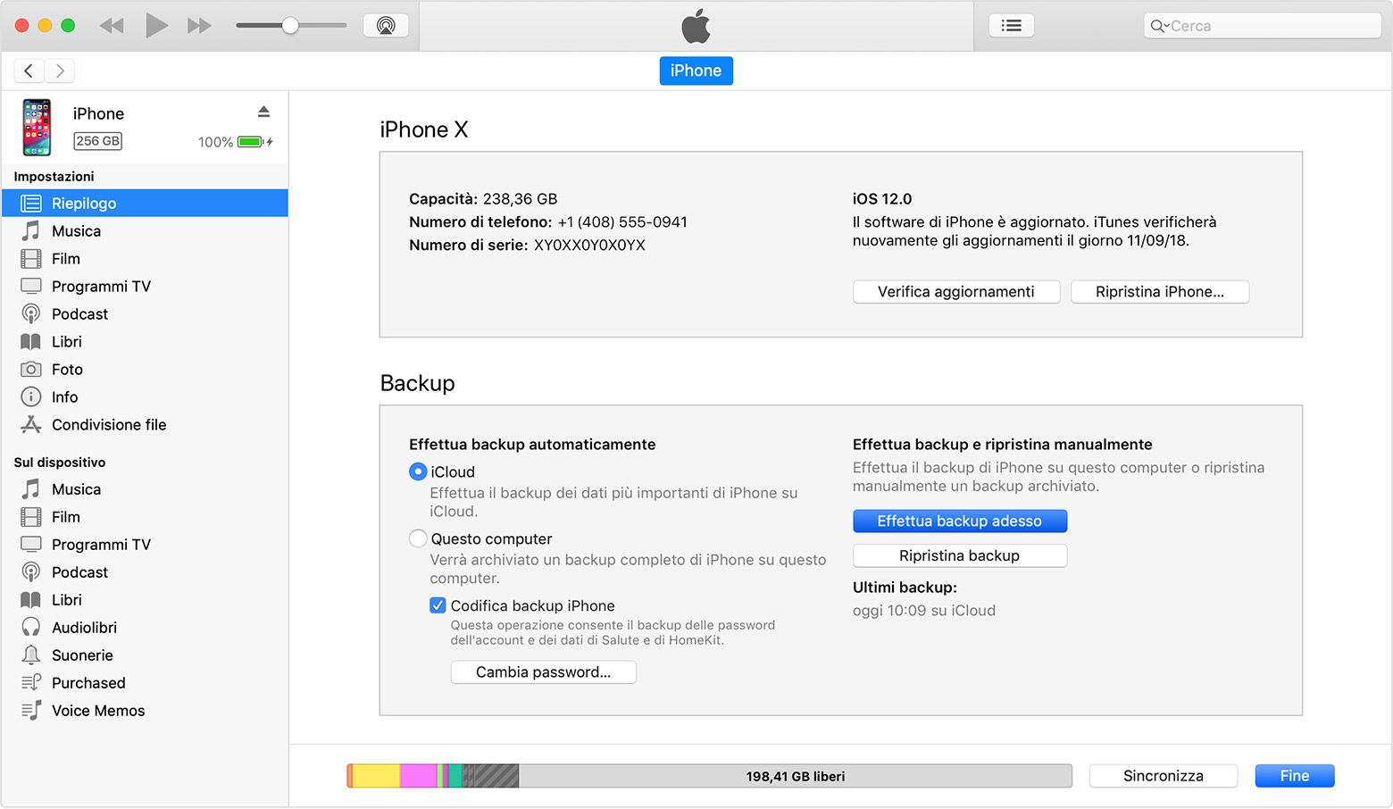backup iphone on mac come eseguire il backup tuo iphone e ipod touch 13537