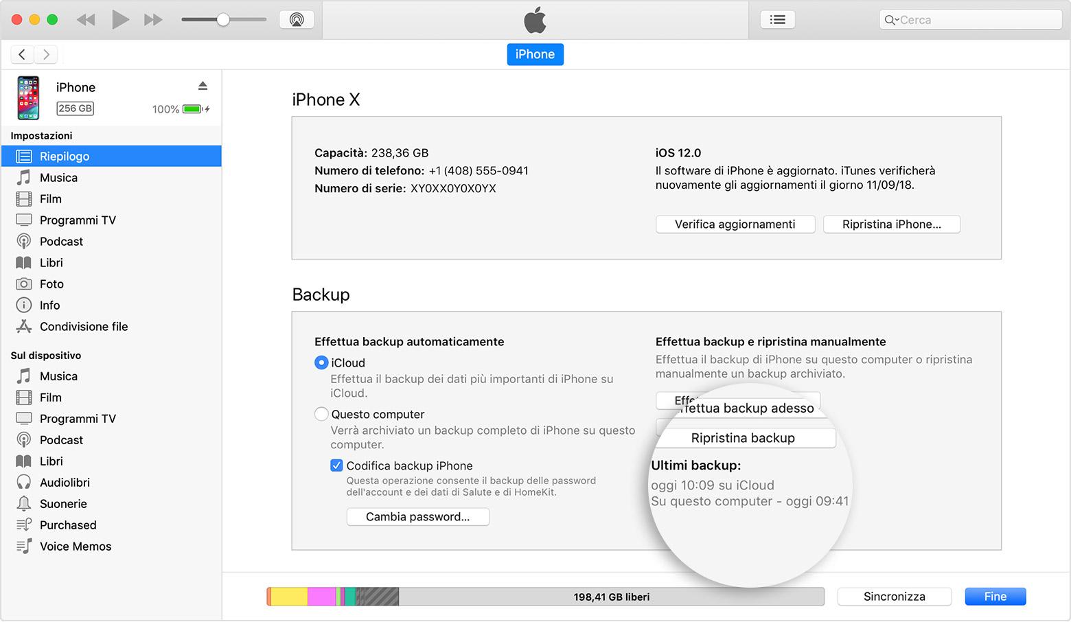 problemi aggiornamento itunes su mac
