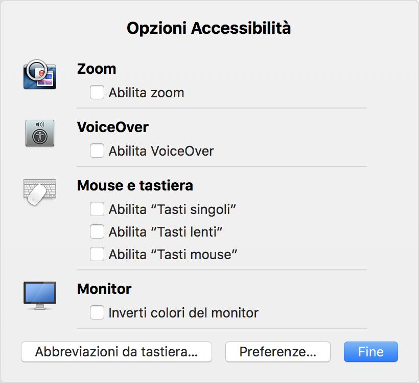 Come Usare Le Abbreviazioni Da Tastiera Per Opzioni Accessibilit