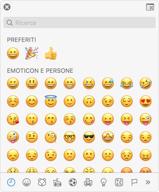 Come inserire emoji e simboli su Mac: il visore emoji