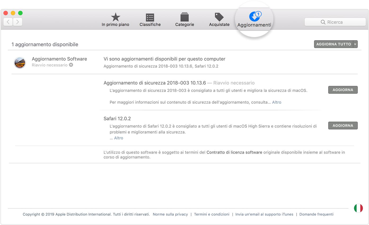 nuova versione itunes 10.7