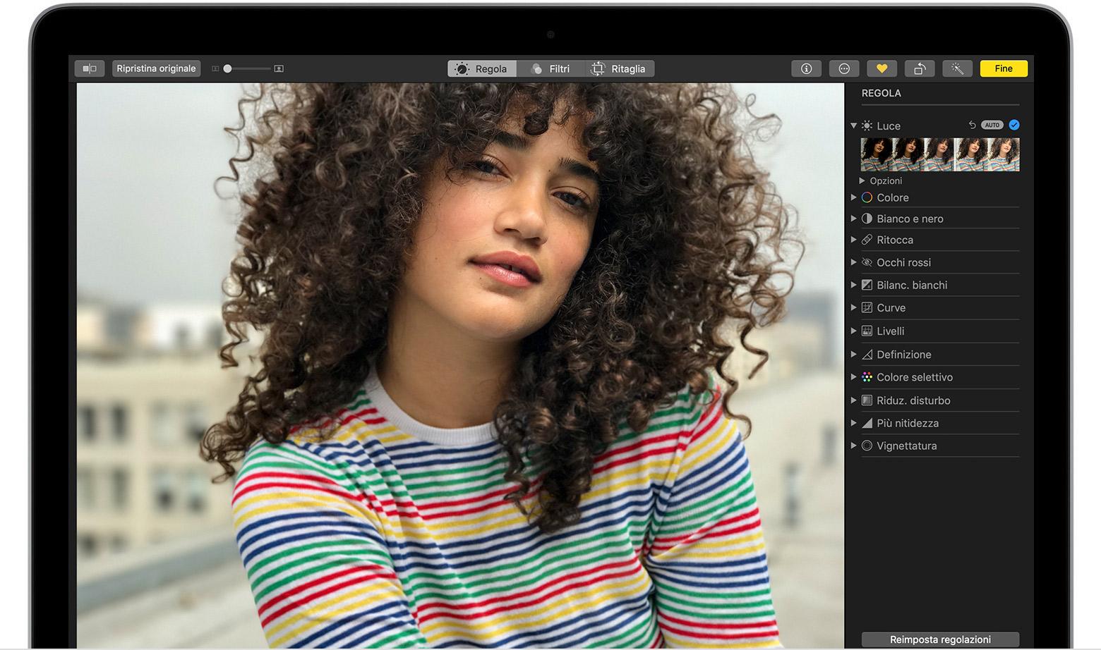 Come Modificare Le Foto Sul Mac Supporto Apple