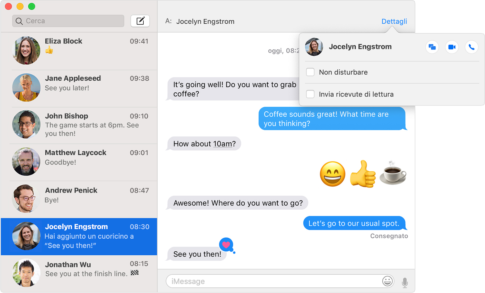 leggere messaggi iphone su mac