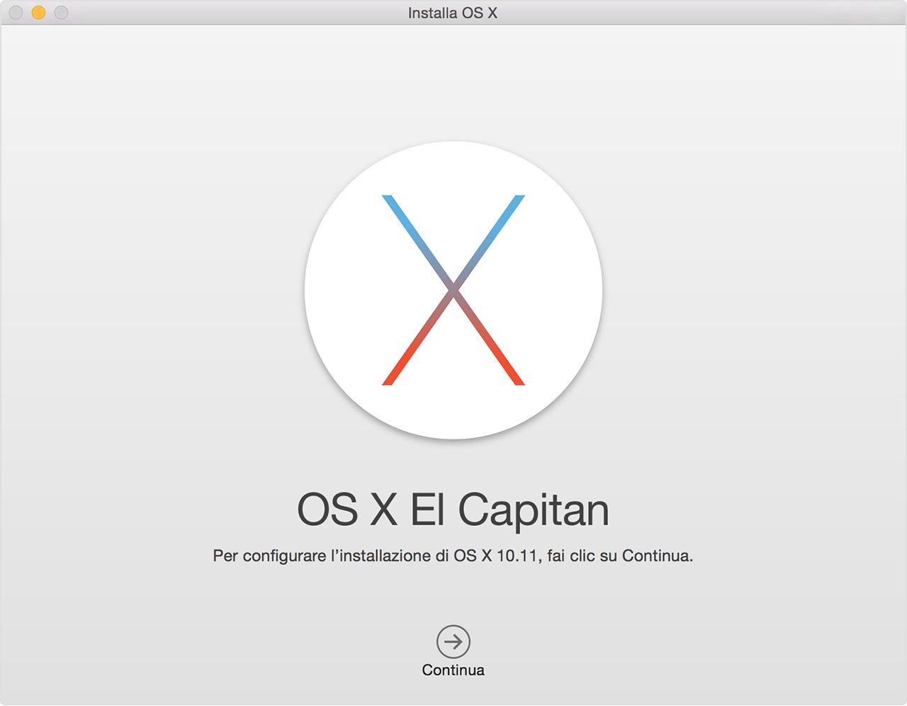 el capitan senza apple store
