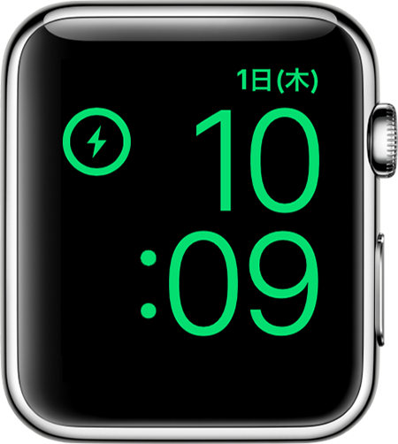Watchos4 3 series3 watch charging vertical nightstand mode