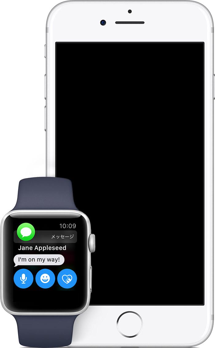 Watchos4 series2 ios11 iphone7 watch message notification