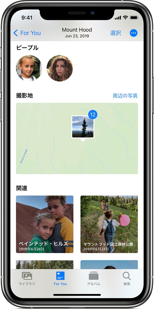 追加 iphone ピープル