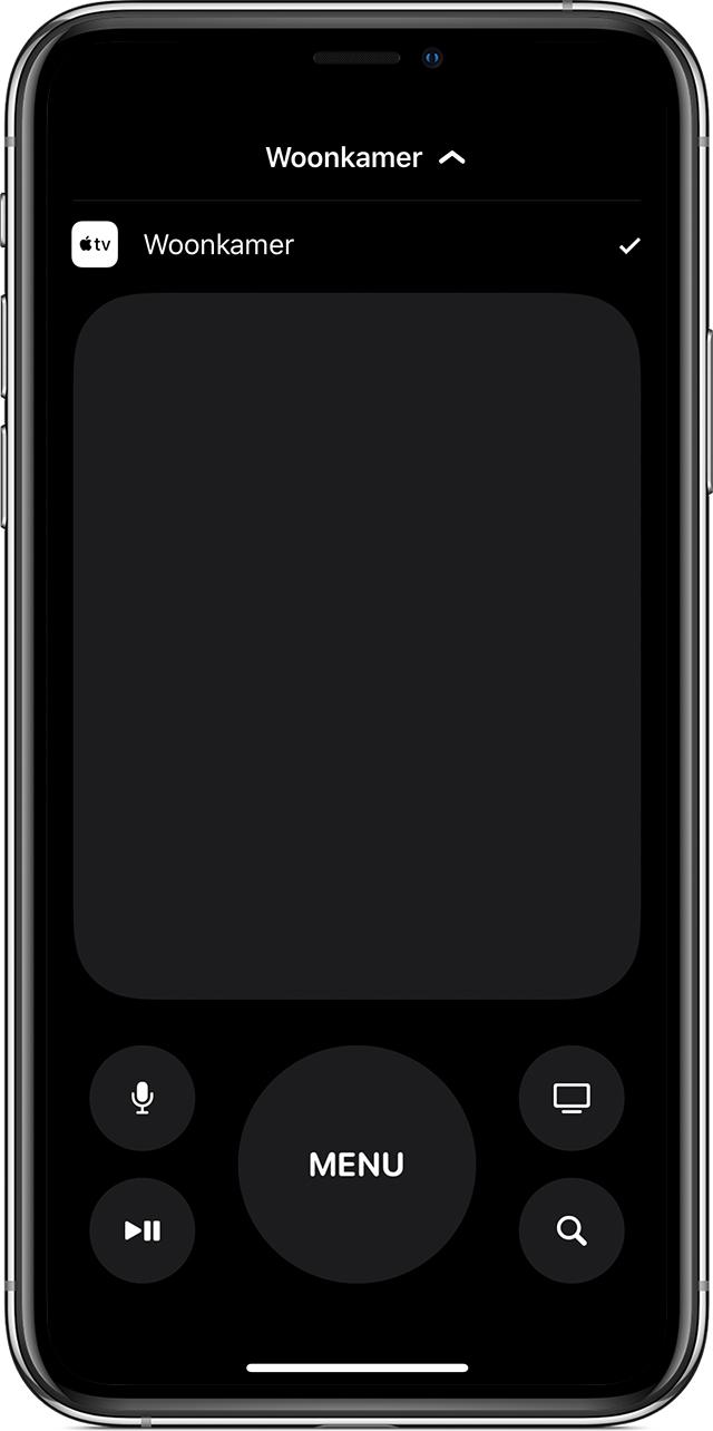 De Apple Tv Remote Op Een Iphone Ipad Of Ipod Touch