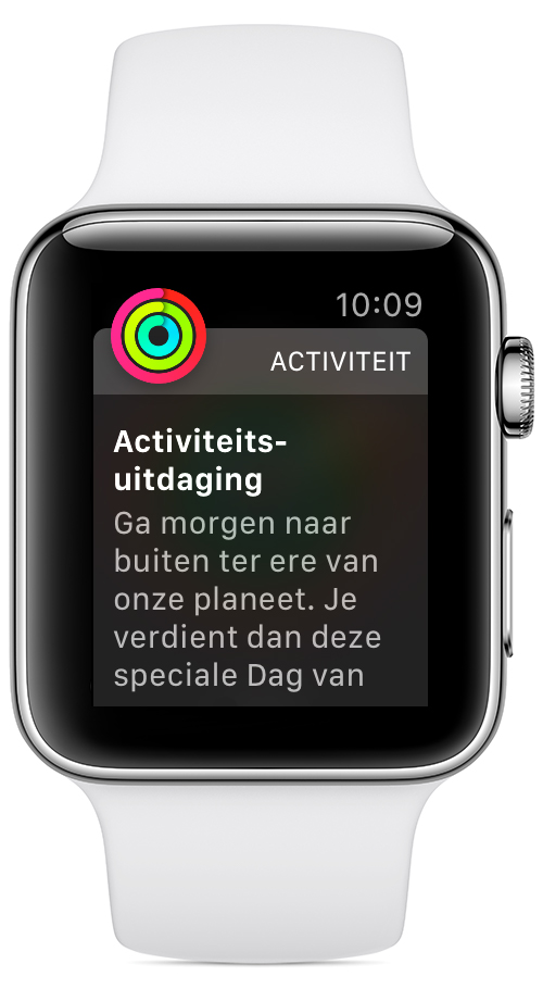 Ring in the New Year-uitdaging op de Apple Watch.