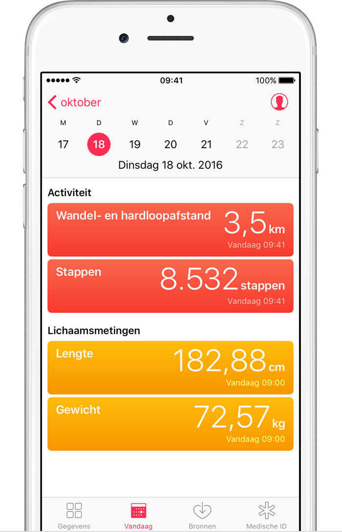 iphone health app gezondheid app iphone fietsen la beaut 233 et la 11920