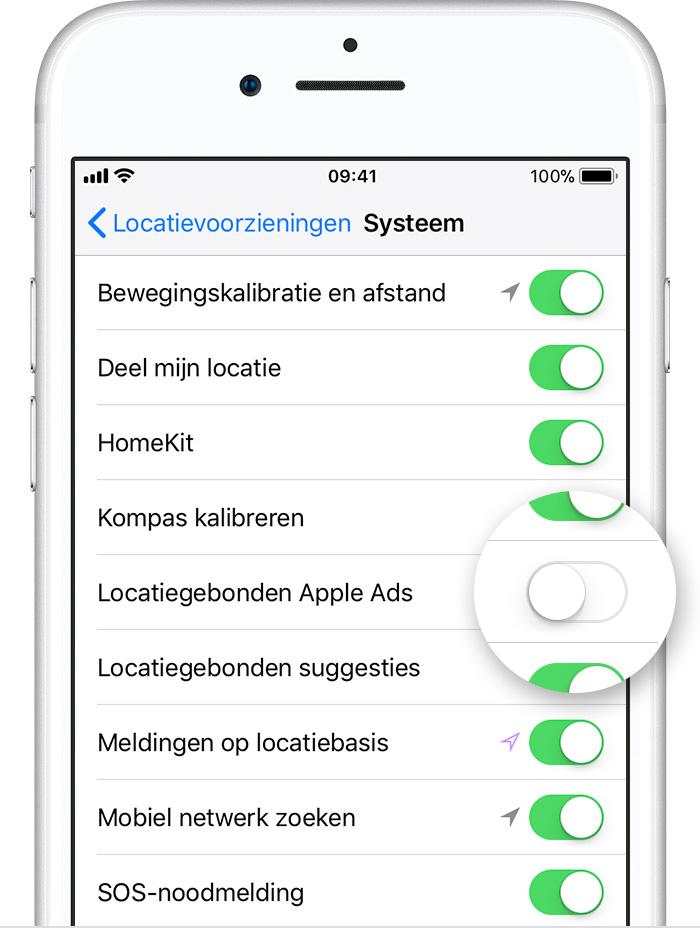 54a68f0b0c8 Uitschrijven bij advertenties op basis van interesses in de App ...