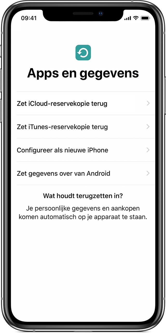 Iphone Reserve Kopie Onthoud Geen Film
