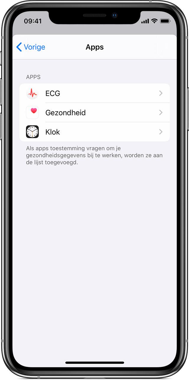 Doe een aansluiting apps werk