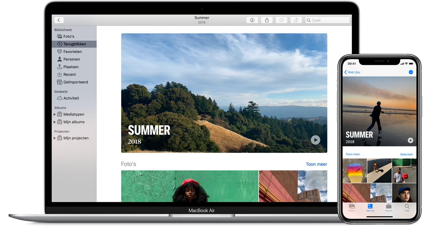 Genieten Van Terugblikken In Foto S Apple Support